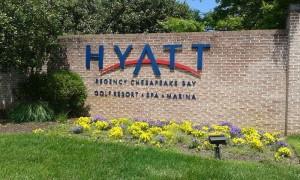 Hyatt - ulaz u rezort
