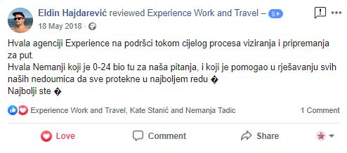 Eldin Hajdarevic Experience
